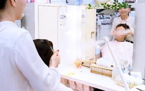 肌診断 府中市、福山市 神辺のアルビオン化粧品店